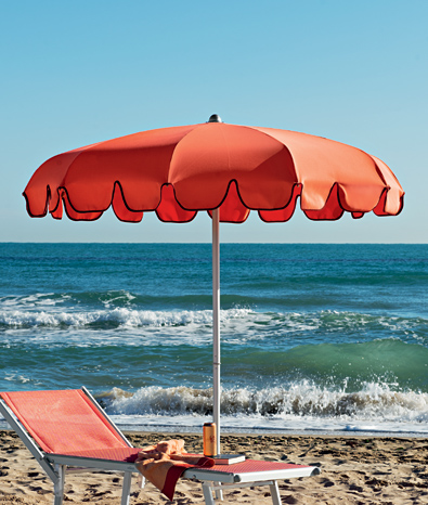 Beach Umbrella, Garden Umbrella -  Charleston - Ombrellificio Magnani 01